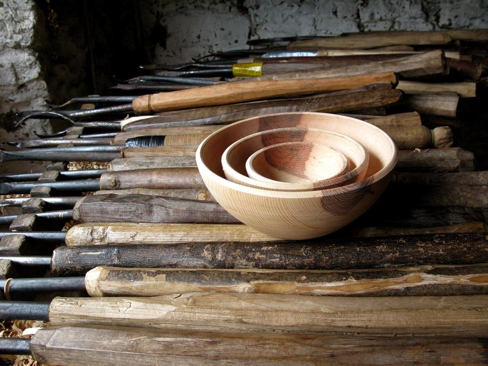 Robin Wood Bowls. Photo: Rob Penn