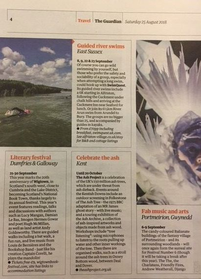 Guardian Travel. Press Clipping