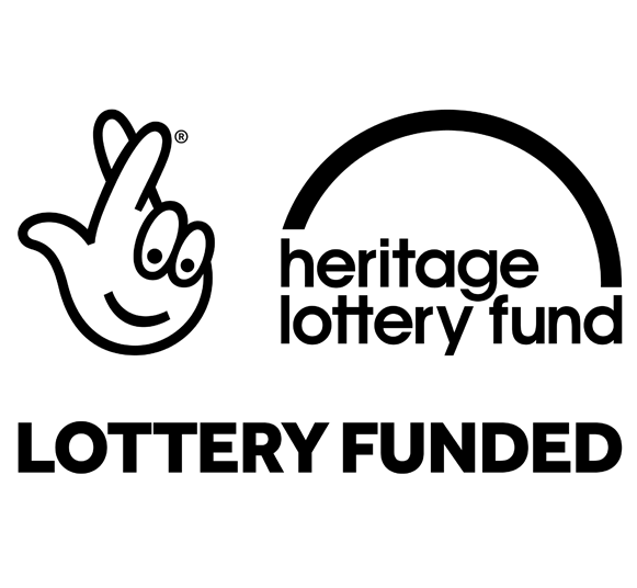 Heritage Lottery Fund: Lottery Funded logo